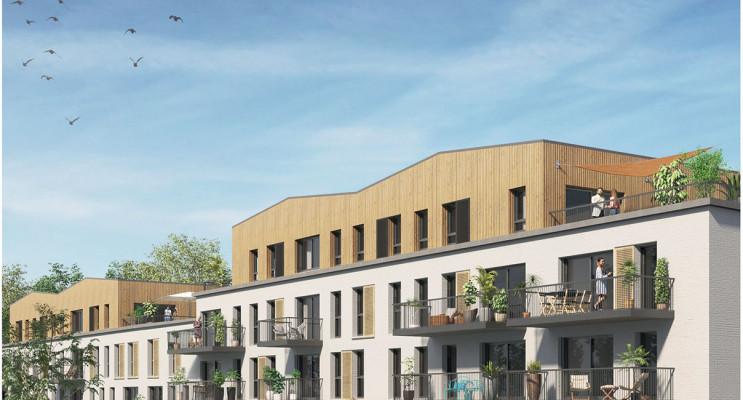 Halluin programme immobilier neuf « Travertse » en Loi Pinel