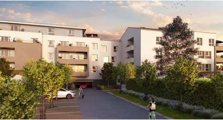 Marseille programme immobilier neuf « Green Allée » en Loi Pinel