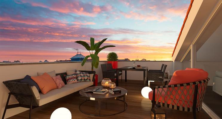 Bordeaux programme immobilier neuf « L'Intemporel » en Loi Pinel