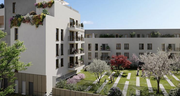 Rouen programme immobilier neuf « Calypso » en Loi Pinel