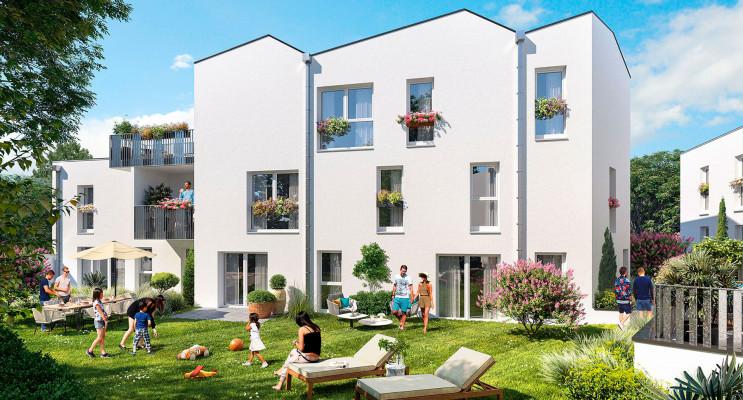 Nantes programme immobilier neuf « Le Clos 24 » en Loi Pinel