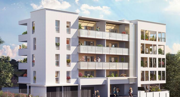 Marseille programme immobilier neuf « Floréa » en Loi Pinel