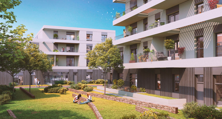 Saint-Herblain programme immobilier neuf « L'Héritage