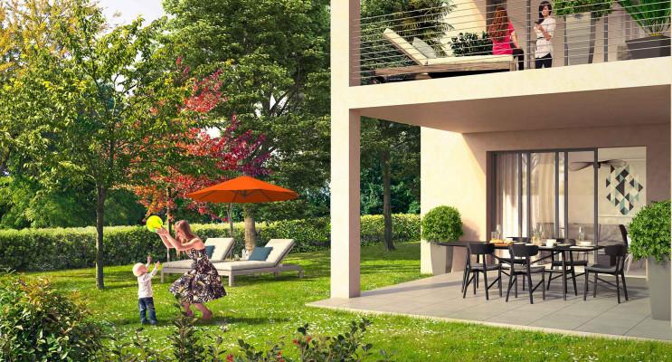 Aix-en-Provence programme immobilier neuf « Coeur Village » en Loi Pinel