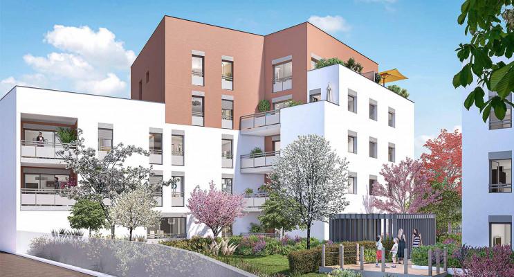Villeurbanne programme immobilier neuf « Déclic » en Loi Pinel