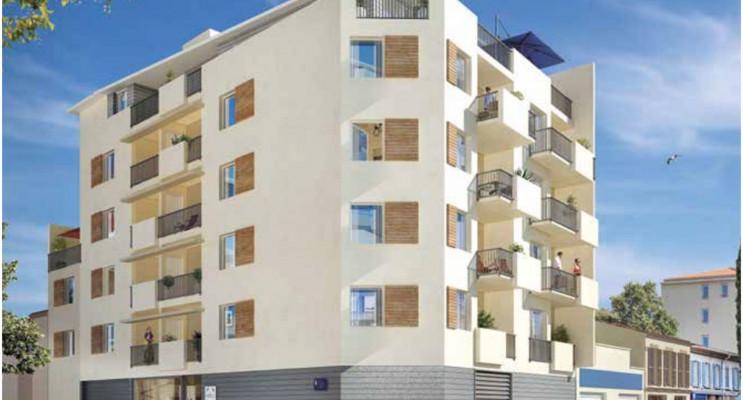 Toulon programme immobilier neuf « Carré Majorelle » en Loi Pinel