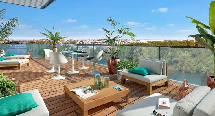 Toulouse programme immobilier neuf « Terre Garonne » en Loi Pinel