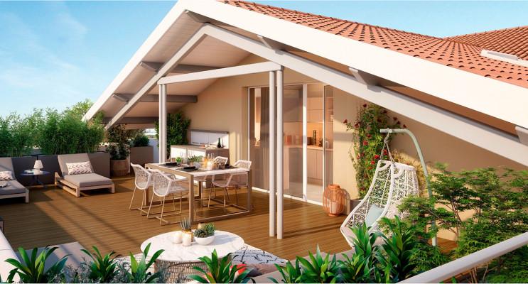 Castanet-Tolosan programme immobilier neuf « Patio 47 » en Loi Pinel