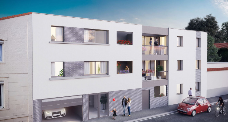 Reims programme immobilier neuf « Aria » en Loi Pinel