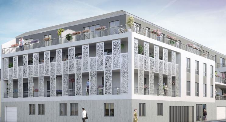 Reims programme immobilier neuf « Grand Angle, Sacré Coeur » en Loi Pinel