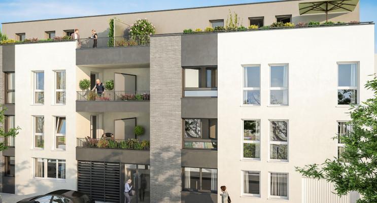 Reims programme immobilier neuf « Porte de Paris » en Loi Pinel