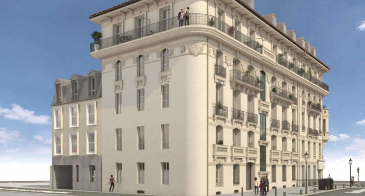 Nice programme immobilier neuf « Le Malaussena - Neuf » en Loi Pinel