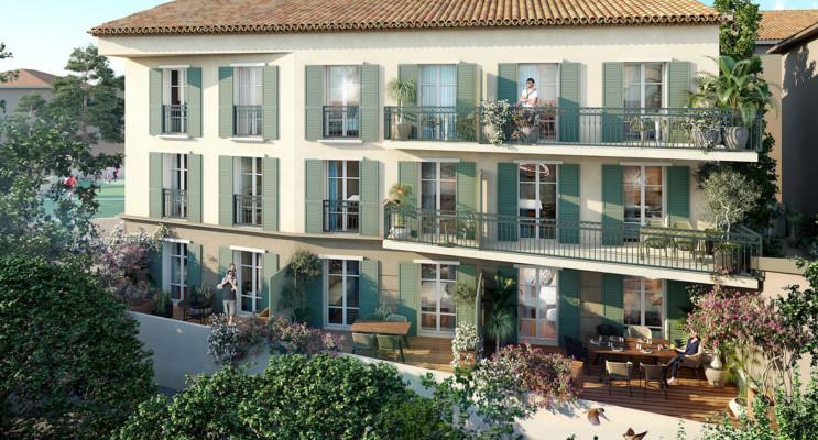 Saint-Tropez programme immobilier neuf « Demeure d'Oscar »