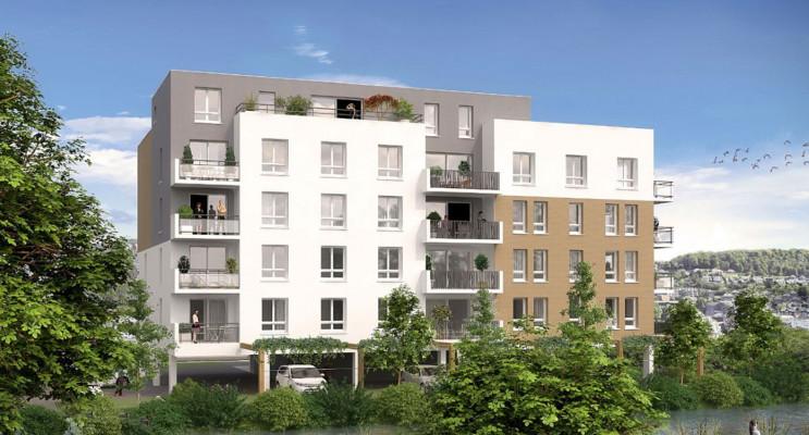Maromme programme immobilier neuf « Au fil de l'O » en Loi Pinel
