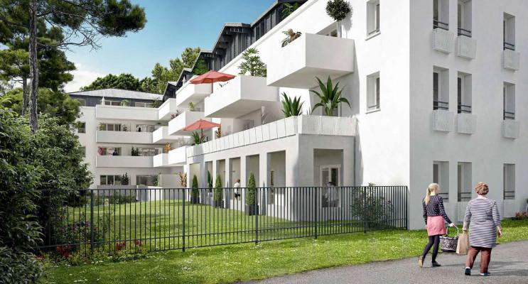 Anglet programme immobilier neuf « Résidence Amatigà »