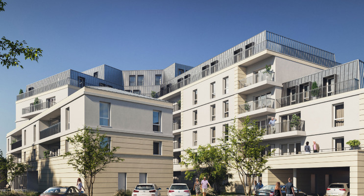 Limoges programme immobilier neuf « Fleur d'Orme »
