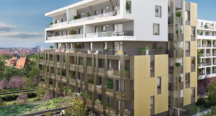 Schiltigheim programme immobilier neuf « Eloquence & Prestance » en Loi Pinel