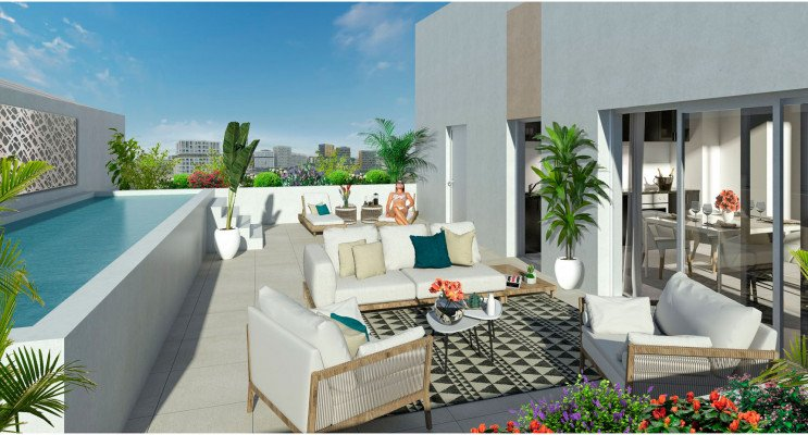 Montpellier programme immobilier neuf « Indüs » en Loi Pinel
