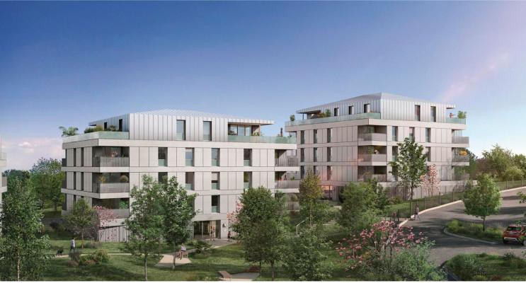 Toulouse programme immobilier neuf « Les Jardins de Pouvourville » en Loi Pinel