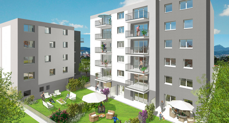 Clermont-Ferrand programme immobilier neuf « Cubik » en Loi Pinel