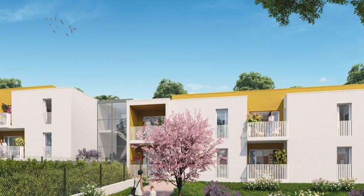 Montpellier programme immobilier neuf « Le Domaine de Bellefeuille » en Loi Pinel
