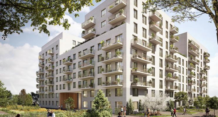 Rouen programme immobilier neuf « Arborescence » en Loi Pinel