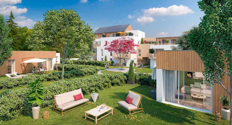 Nantes programme immobilier neuf « Cosy Garden » en Loi Pinel