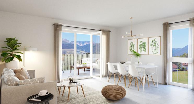 Charvonnex programme immobilier neuf « L'Ermengarde » en Loi Pinel