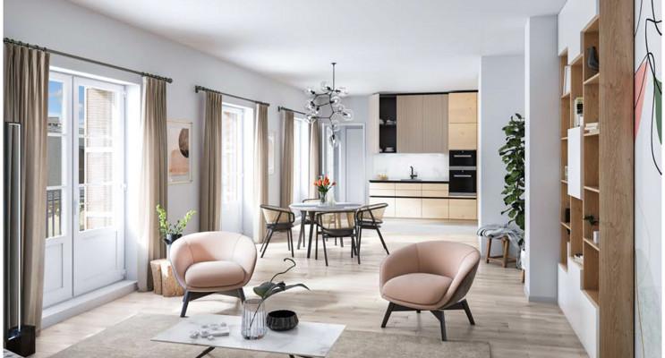 Tours programme immobilier neuf « L'Hôtel des Lettres