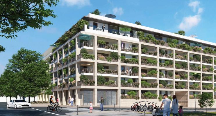 Montpellier programme immobilier neuf « Hermès 56 » en Loi Pinel