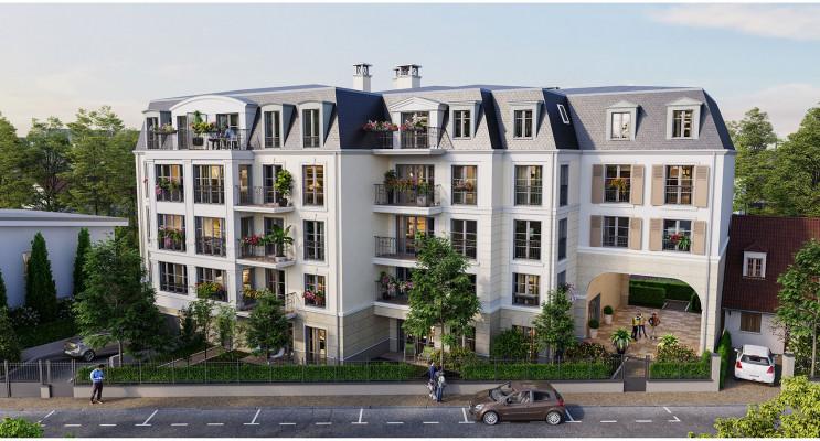 Clamart programme immobilier neuf « Pavillon Duval » en Loi Pinel
