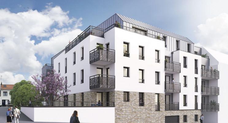 Saint-Herblain programme immobilier neuf « Villa Anna » en Loi Pinel
