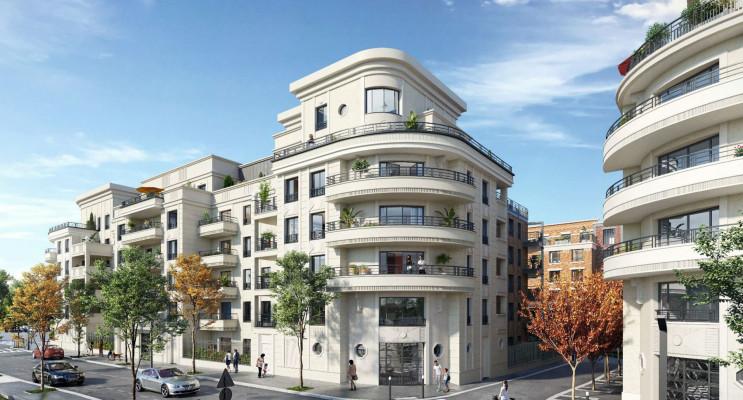 Saint-Ouen-sur-Seine programme immobilier neuf « Le Corner - Upside » en Loi Pinel