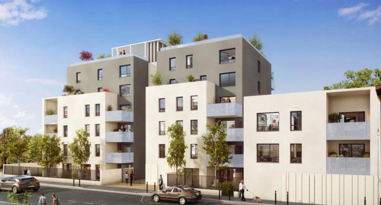 Villeurbanne programme immobilier neuf « Rouss'Ô » en Loi Pinel
