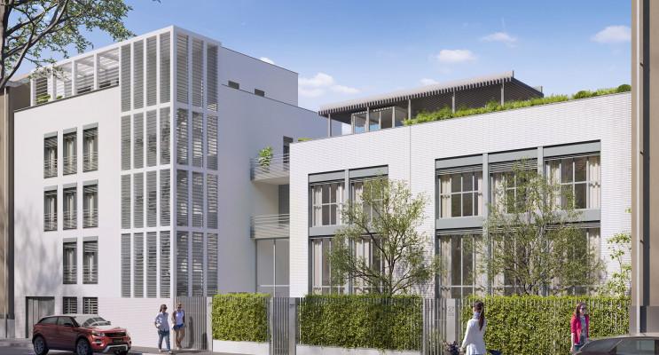 Lyon programme immobilier neuf « Évidence » en Loi Pinel