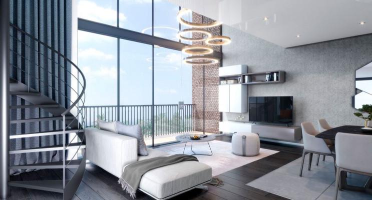 Saint-André-lez-Lille programme immobilier neuf « Le domaine d'Hestia - Villa Cronos » en Loi Pinel