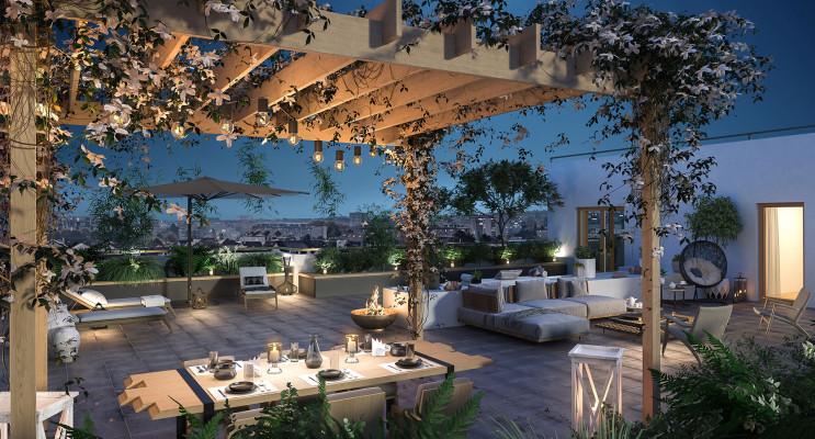 Rueil-Malmaison programme immobilier neuf « Respiration » en Loi Pinel