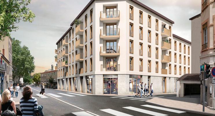 Lyon programme immobilier neuf « Faubourg Valmy » en Loi Pinel