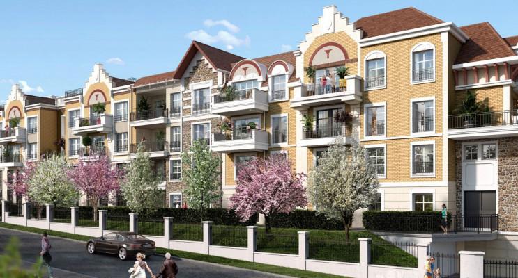 Châtenay-Malabry programme immobilier neuf « Route du Plessis Piquet » en Loi Pinel