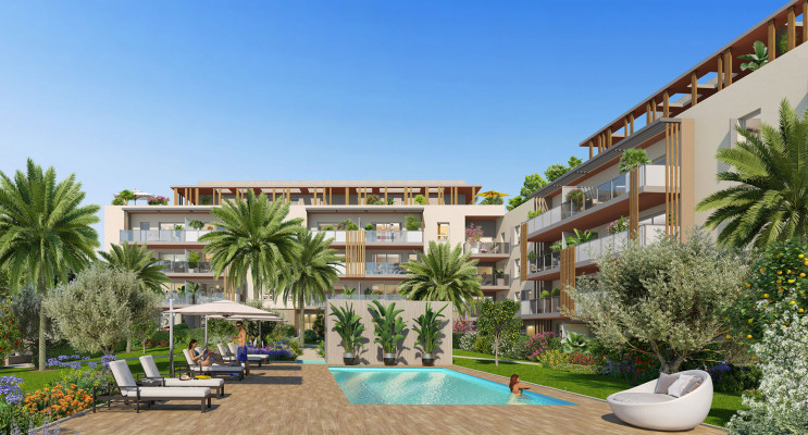 Fréjus programme immobilier neuf « Pure Valescure
