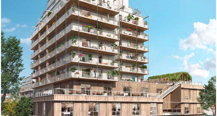 Rouen programme immobilier neuf « Lisière en Seine » en Loi Pinel