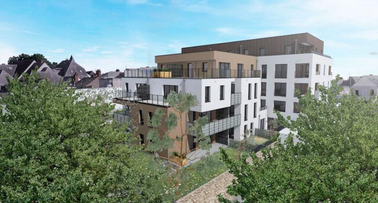 Angers programme immobilier neuf « Jardin sur Cour » en Loi Pinel