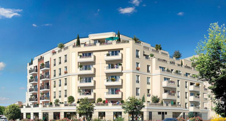 Gagny programme immobilier neuf « Embellia » en Loi Pinel