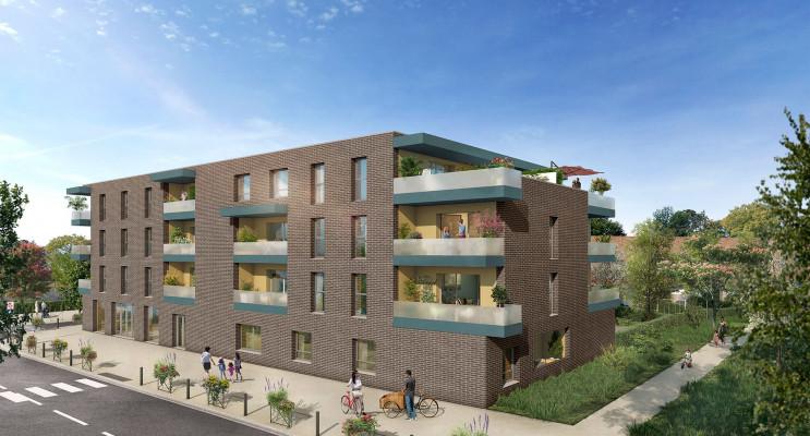 Seclin programme immobilier neuf « Nouvel'R » en Loi Pinel