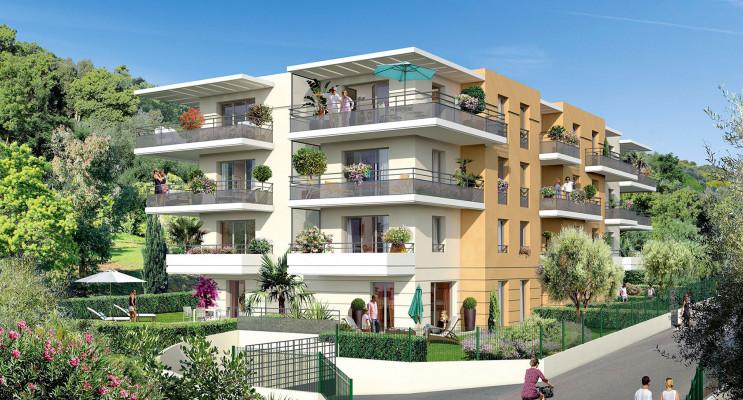 Nice programme immobilier neuf « Villa Flora » en Loi Pinel
