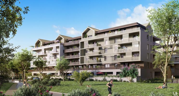 Strasbourg programme immobilier neuf « L'Inattendu