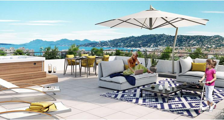 Antibes programme immobilier neuf « O'Cap » en Loi Pinel