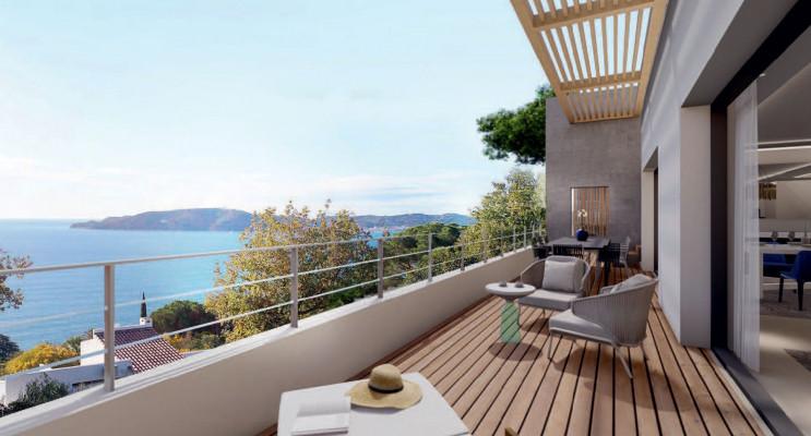 Toulon programme immobilier neuf « Bleu Calade » en Loi Pinel