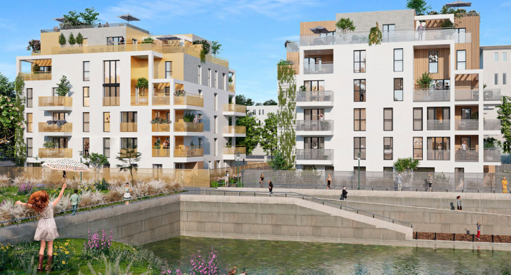 Guyancourt programme immobilier neuf « Les Bords du Lac » en Loi Pinel
