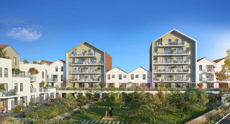 Dijon programme immobilier neuf « Reflets Jardin » en Loi Pinel